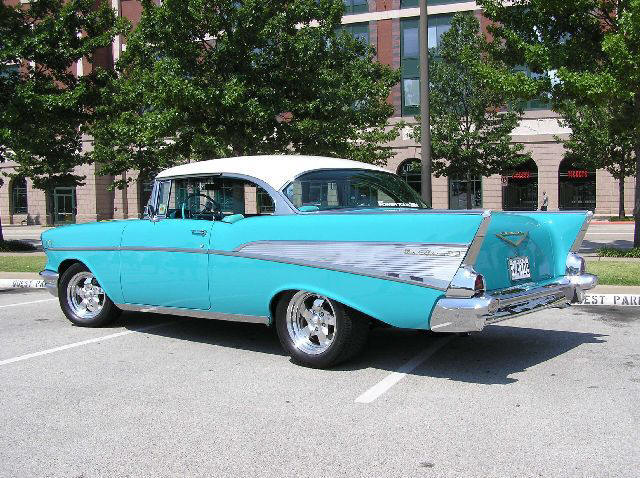 Dean Schmidt, 1957 Chevrolet Bel Air, April 2005