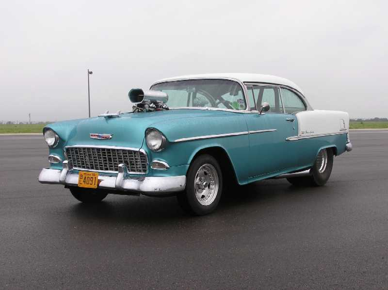 Sonny Poteet, 1955 Chevrolet Bel Air, August 2005